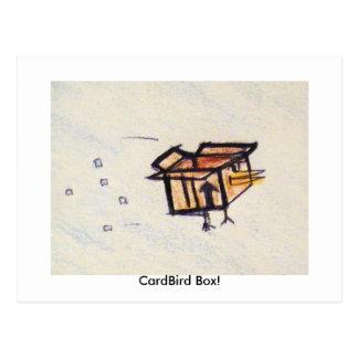 Cartão Postal Caixa de CardBird!