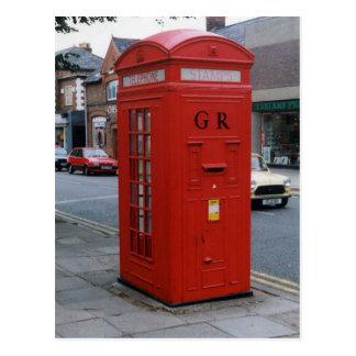 Cartão Postal Caixa de letra britânica 1929 de George V