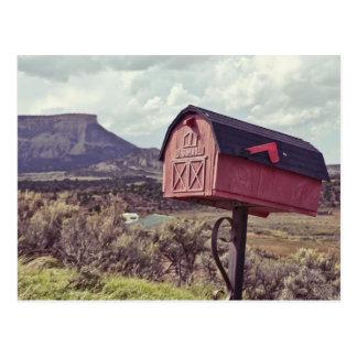 Cartão Postal Caixa postal de Mes Verde E.U.