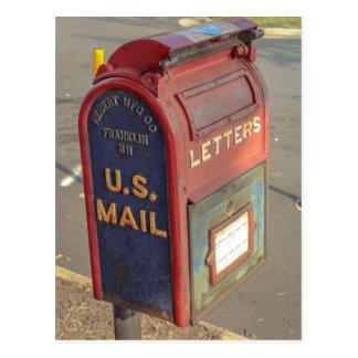 Cartão Postal Caixa postal do vintage
