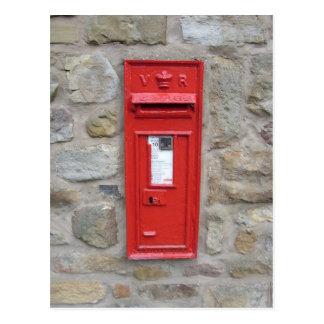 Cartão Postal Caixa postal inglesa