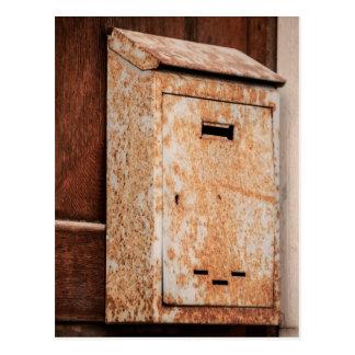 Cartão Postal Caixa postal oxidada fora