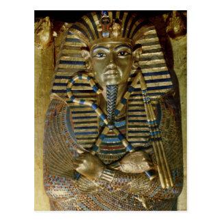 Cartão Postal Caixão mais íntimo de Tutankhamun