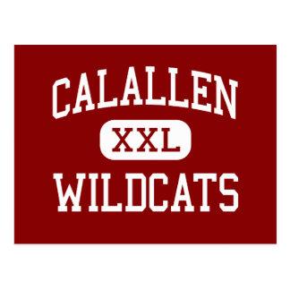 Cartão Postal Calallen - Wildcats - meio - Corpus Christi