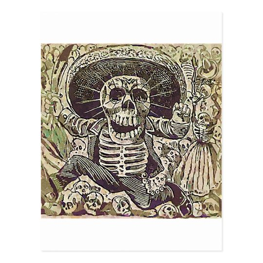 Cartão Postal Calavera