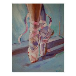 Cartão Postal Calçados de balé