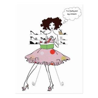 Cartão Postal Calçados fabulosos