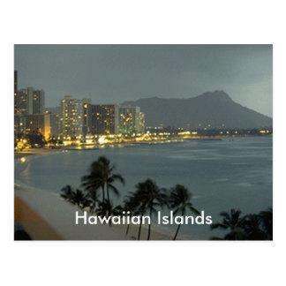 Cartão Postal calçados, ilhas havaianas