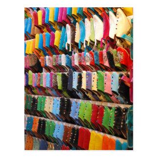 Cartão Postal Calçados marroquinos