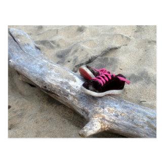 Cartão Postal Calçados na praia