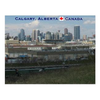 Cartão Postal Calgary Alberta