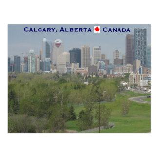 Cartão Postal Calgary Alberta Canadá