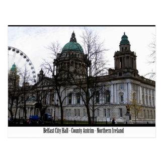 Cartão Postal Câmara municipal de Belfast