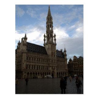 Cartão Postal Câmara municipal de Bruxelas