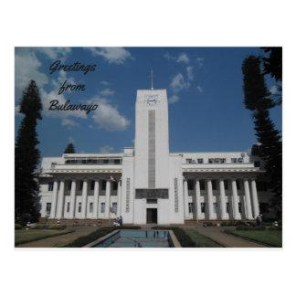 Cartão Postal Câmara municipal de Bulawayo