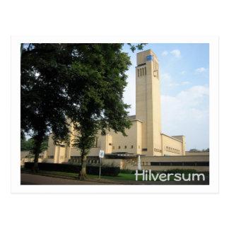 Cartão Postal Câmara municipal de Hilversum