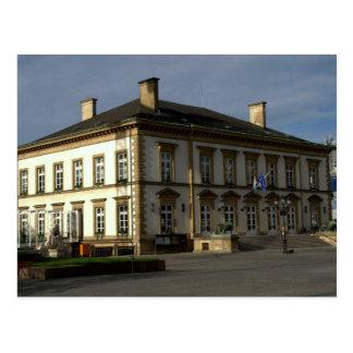 Cartão Postal Câmara municipal de Luxembourg