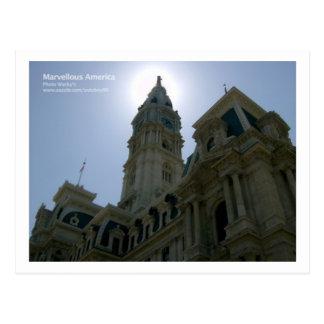 Cartão Postal Câmara municipal de Philadelphfia
