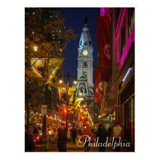 Cartão Postal Câmara municipal, Philadelphfia