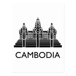 Cartão Postal Cambodia Angkor Wat