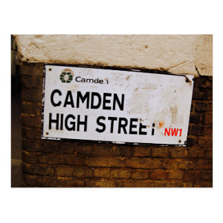 Cartão Postal Camden