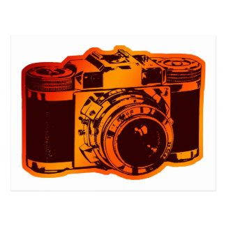 Cartão Postal câmera retro