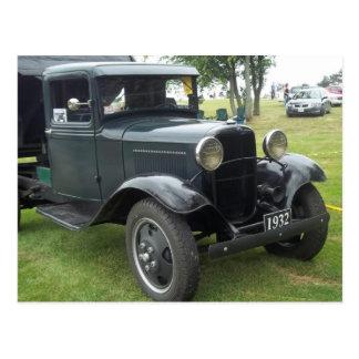 Cartão Postal camião basculante 1932 clássico antigo