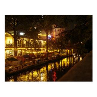 Cartão Postal Caminhada do rio de San Antonio