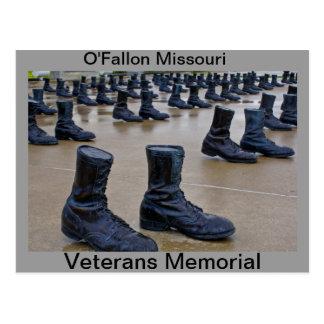 Cartão Postal Caminhada memorável dos veteranos