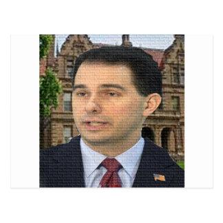 Cartão Postal Caminhante de Scott para o presidente!