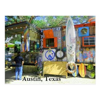 Cartão Postal Caminhão da comida, Austin Texas