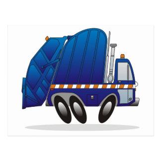 Cartão Postal Caminhão de lixo B