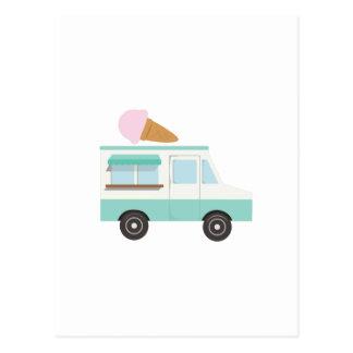 Cartão Postal Caminhão do sorvete