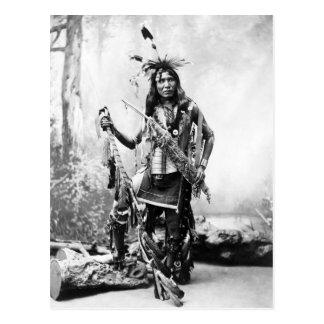 Cartão Postal Camisa de Eagle (Sioux)