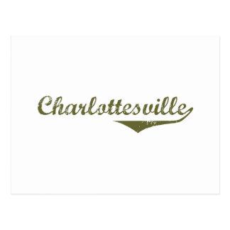 Cartão Postal Camisas da revolução t de Charlottesville