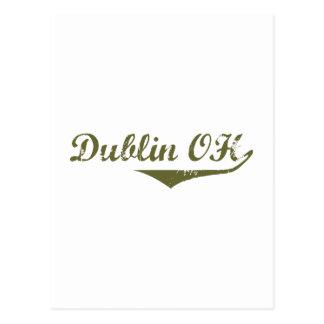 Cartão Postal Camisas da revolução t de Dublin
