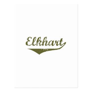 Cartão Postal Camisas da revolução t de Elkhart