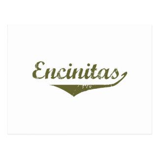 Cartão Postal Camisas da revolução t de Encinitas