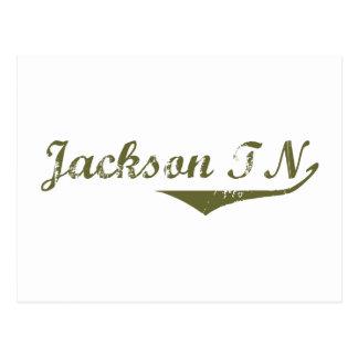Cartão Postal Camisas da revolução t de Jackson