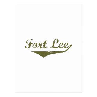 Cartão Postal Camisas da revolução t de Lee do forte