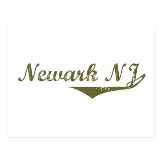 Cartão Postal Camisas da revolução t de Newark