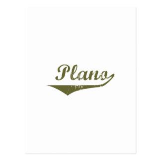 Cartão Postal Camisas da revolução t de Plano