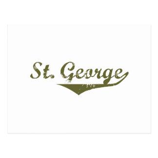 Cartão Postal Camisas da revolução t de St George