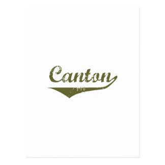 Cartão Postal Camisas da revolução t do cantão