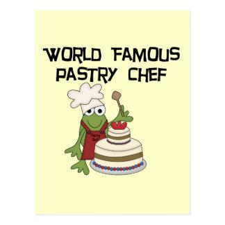 Cartão Postal Camiseta e presentes do cozinheiro chefe de