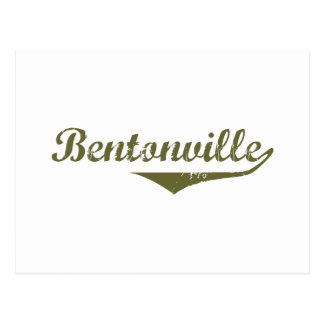 Cartão Postal Camisetas da revolução de Bentonville