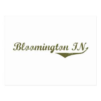 Cartão Postal Camisetas da revolução de Bloomington