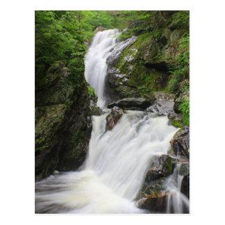 Cartão Postal Campbell cai cachoeira de Berkshires