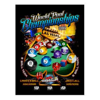 Cartão Postal Campeonatos 2017 da piscina do mundo de APA
