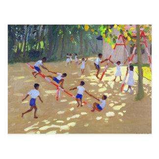 Cartão Postal Campo de jogos Sri Lanka 1998